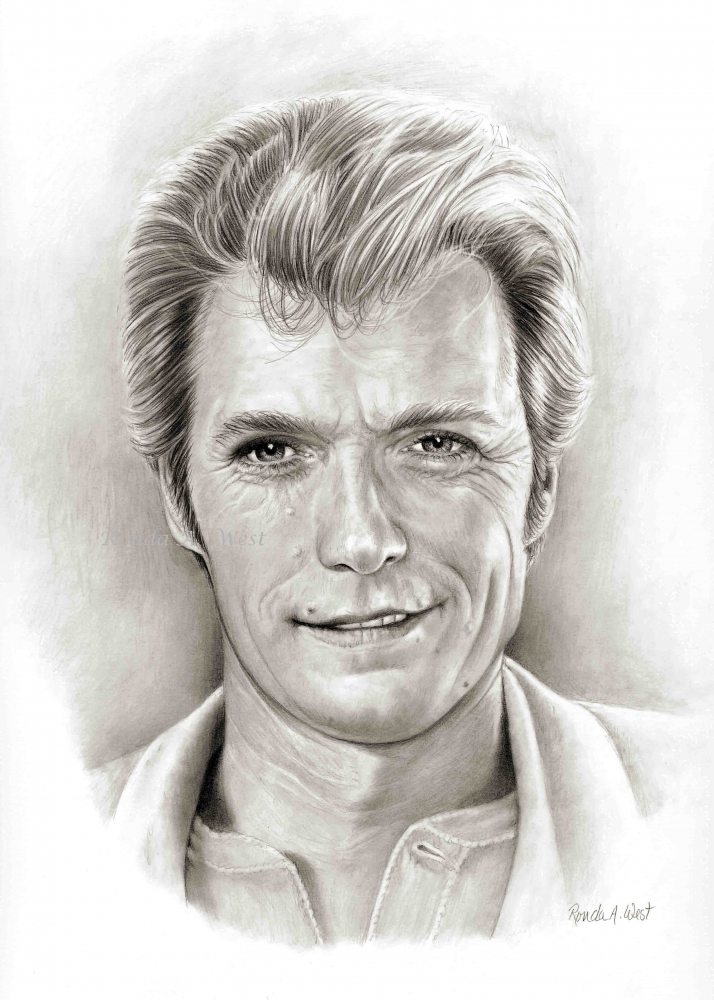 Clint Eastwood by rondawest